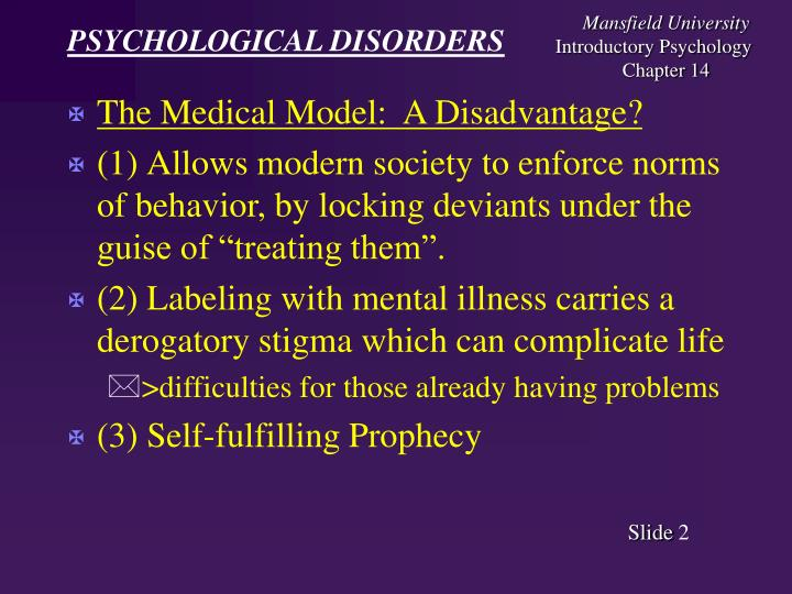 psychological disorders 3 essay Neurotic disorders, gives some examples of such disorders, describes the symptoms, and discusses how these neurotic disorders can be treated neurotic disorders (also known as neurosis in psychiatry) are a broad category of psychological disturbance, encompassing various mild forms of mental disorder without psychotic symptoms.