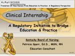 clinical internship