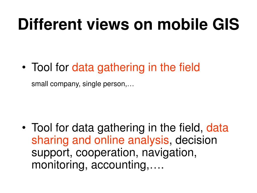 Different views on mobile