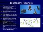 bluetooth piconets