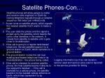 satellite phones con