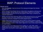 wap protocol elements9