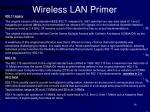 wireless lan primer