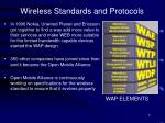 wireless standards and protocols