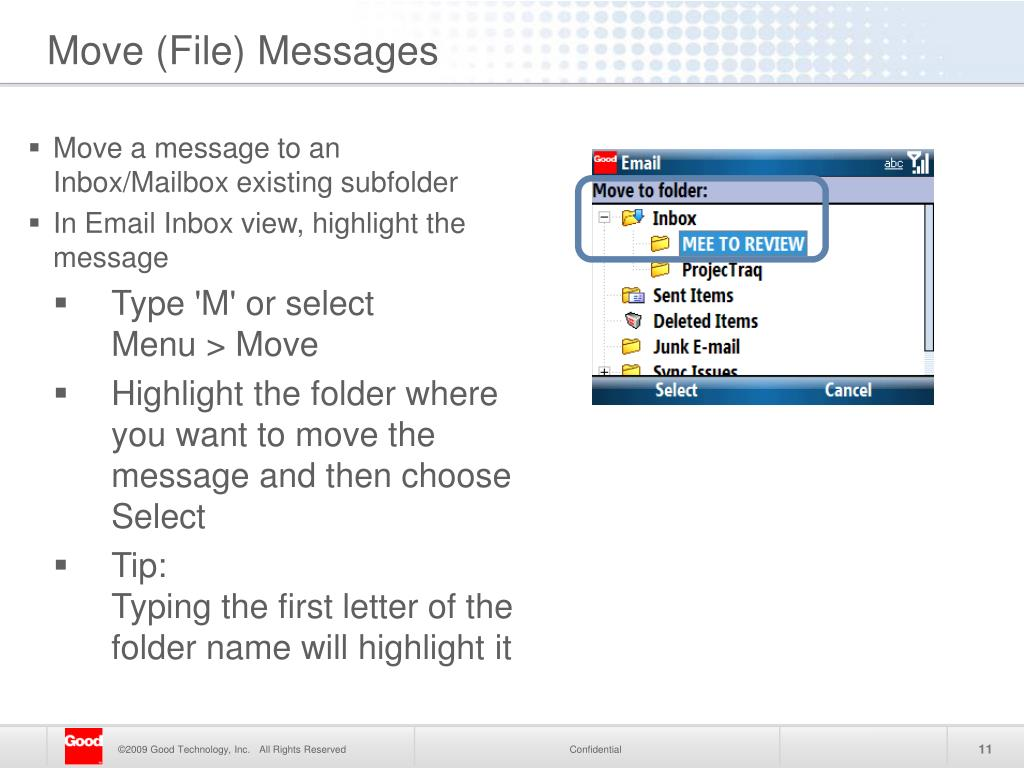 Move (File) Messages