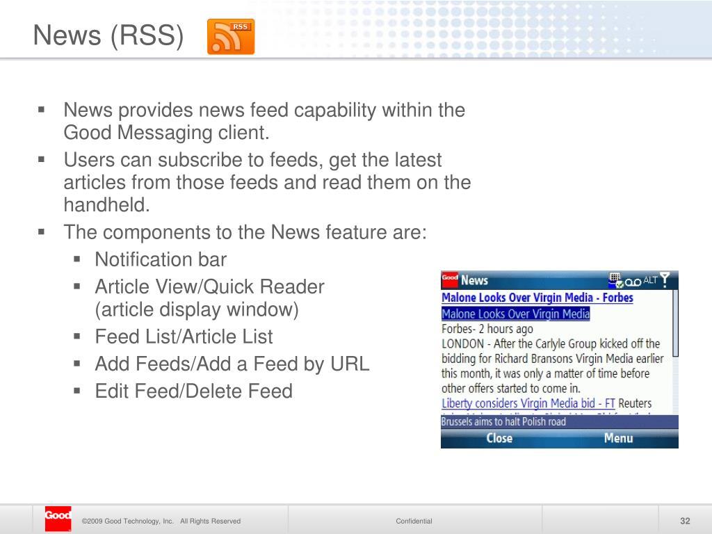 News (RSS)