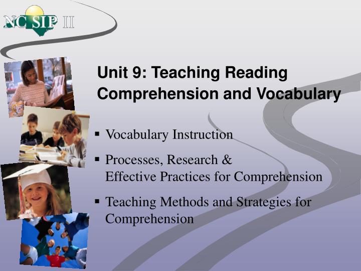 unit 9 teaching reading comprehension and vocabulary n.