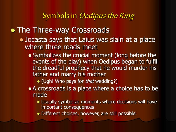 oedipus the king incentive moment