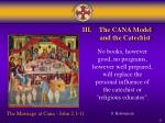 iii the cana model and the catechist