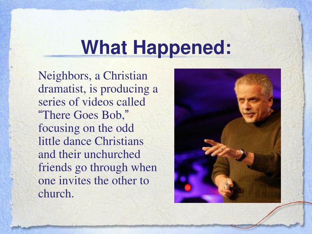 What Happened: