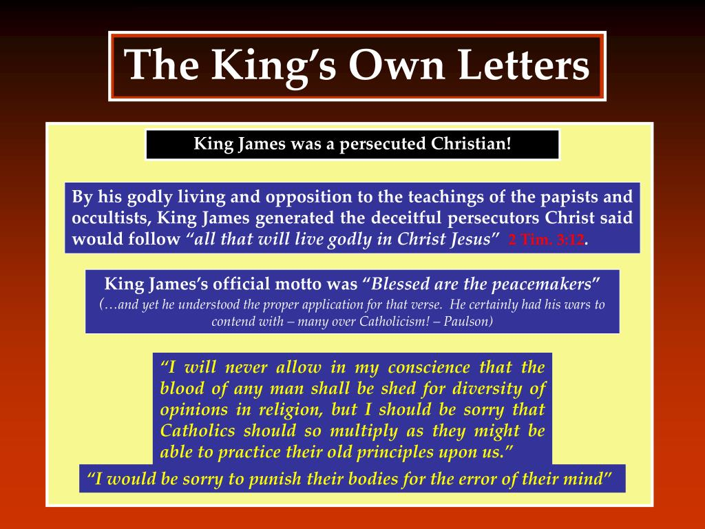 The King's Own Letters