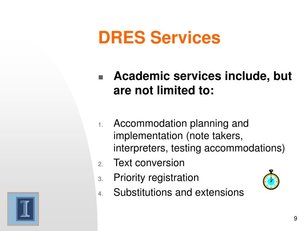 DRES Services