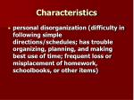 characteristics16
