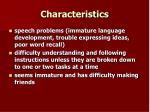 characteristics18