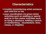 characteristics19