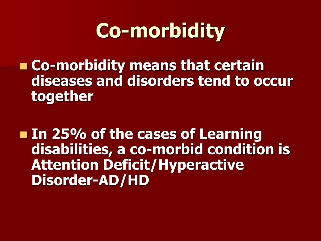Co-morbidity