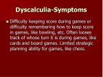dyscalculia symptoms40
