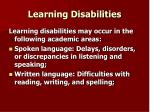 learning disabilities21