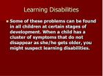 learning disabilities23