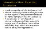 international harm reduction association