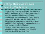 college bound adults with learning disabilities15