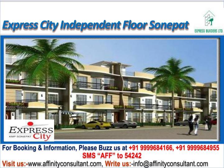 Express City Independent Floor