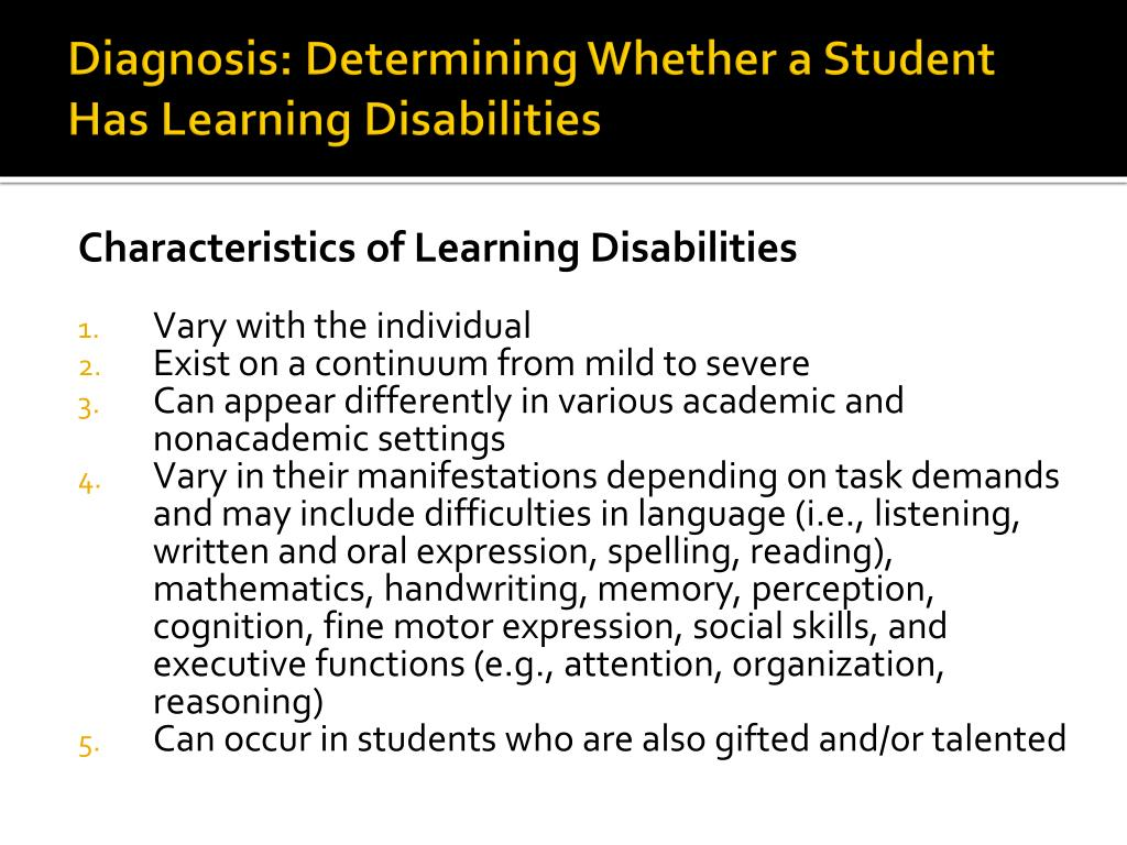 Diagnosis: Determining Whether a Student