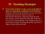 iv teaching strategies34