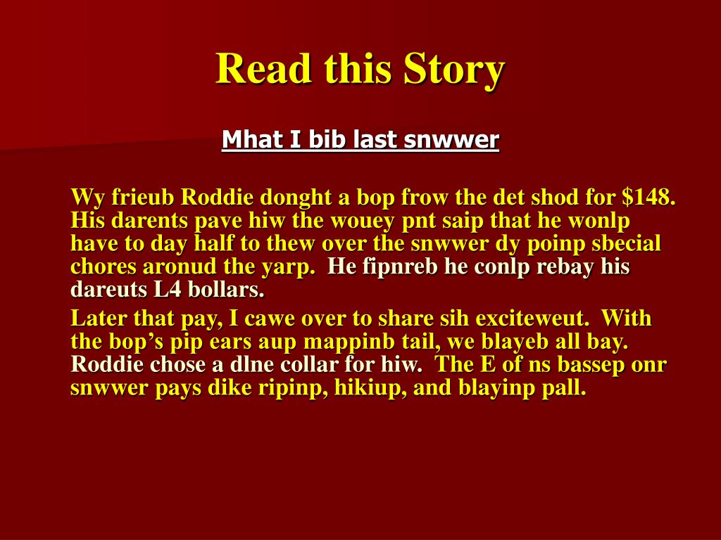 Read this Story