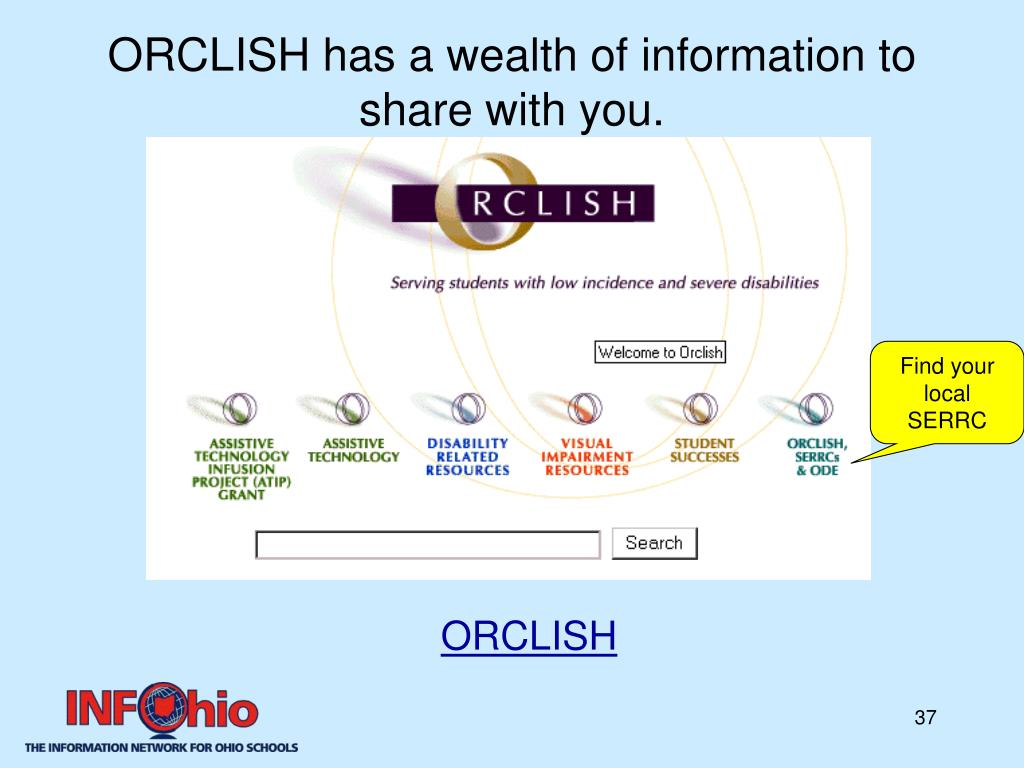 ORCLISH has a wealth of information to share with you.