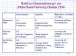 modell zur bereinstimmung in der unterrichtswahrnehmung clausen 2000