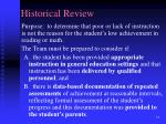 historical review21