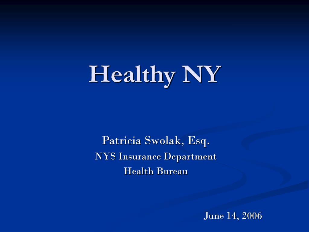 Healthy NY