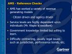 ams reference checks