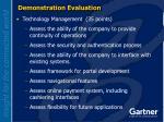 demonstration evaluation25