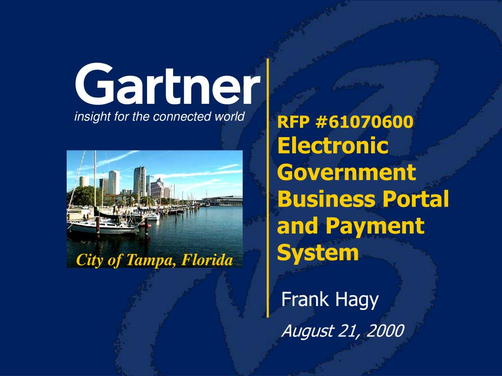 rfp 61070600 electronic government business portal and payment system