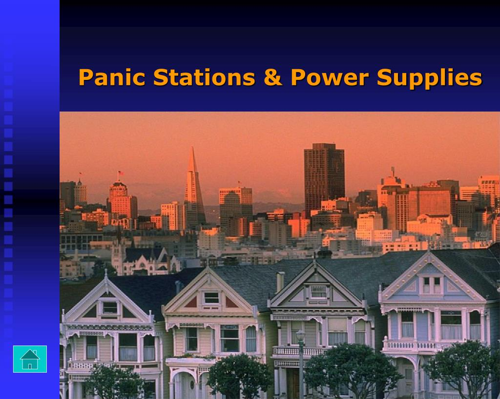 Panic Stations & Power Supplies