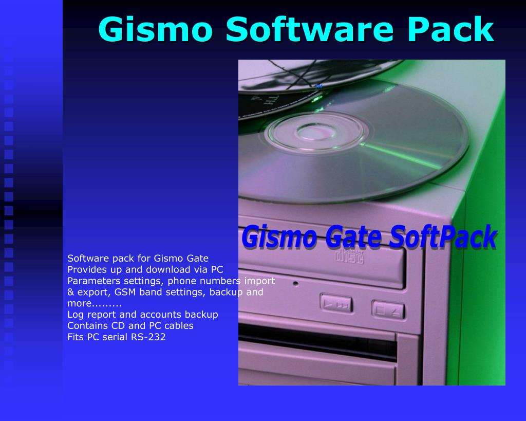 Gismo Software Pack