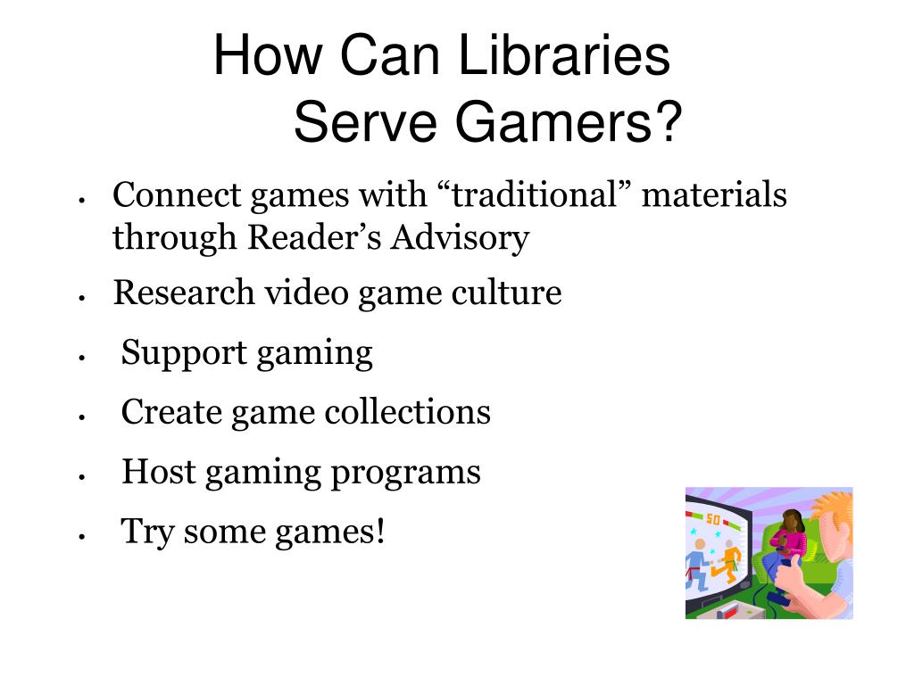 How Can Libraries