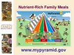 nutrient rich family meals