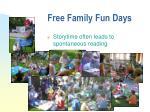 free family fun days15