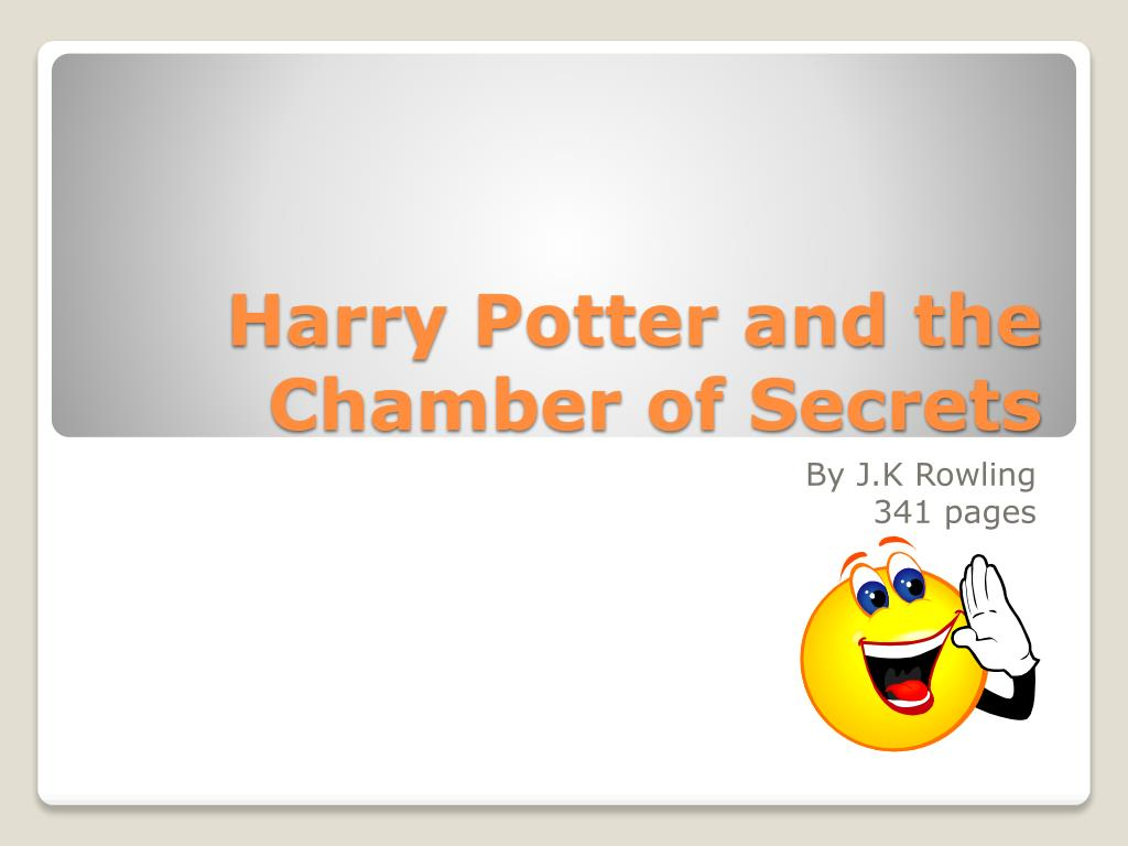 harry potter and the chamber of secrets l.