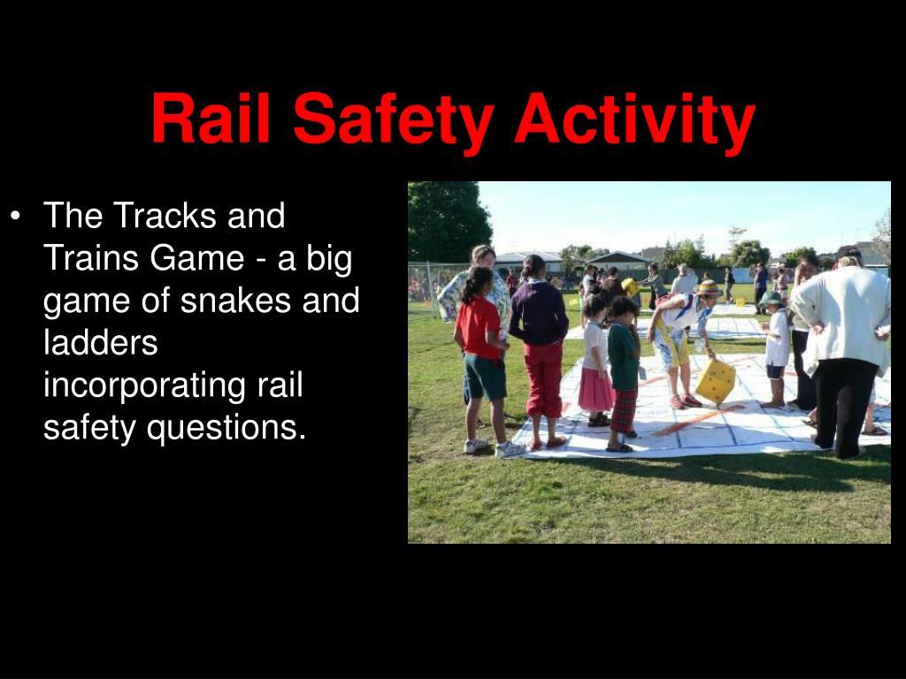 Rail Safety Activity