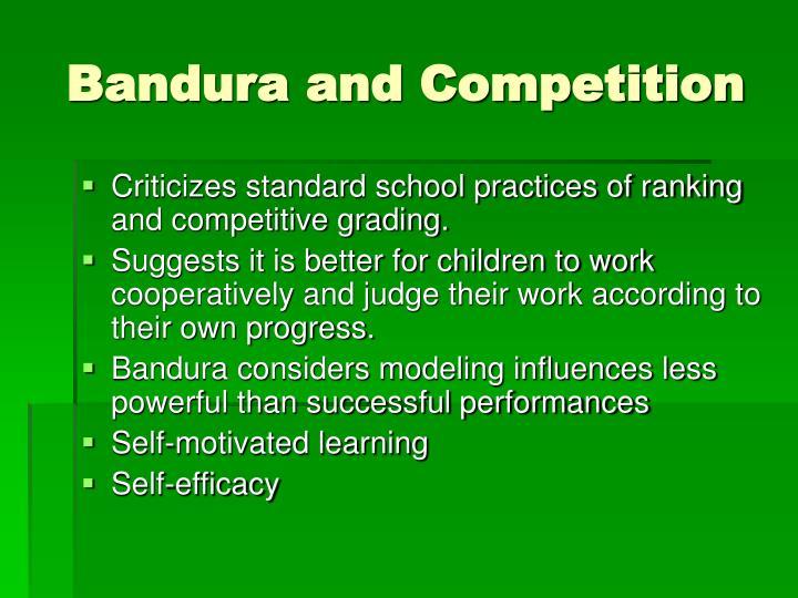 according to bandura