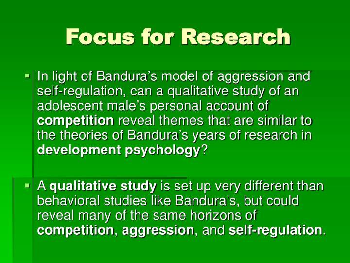 banduras research