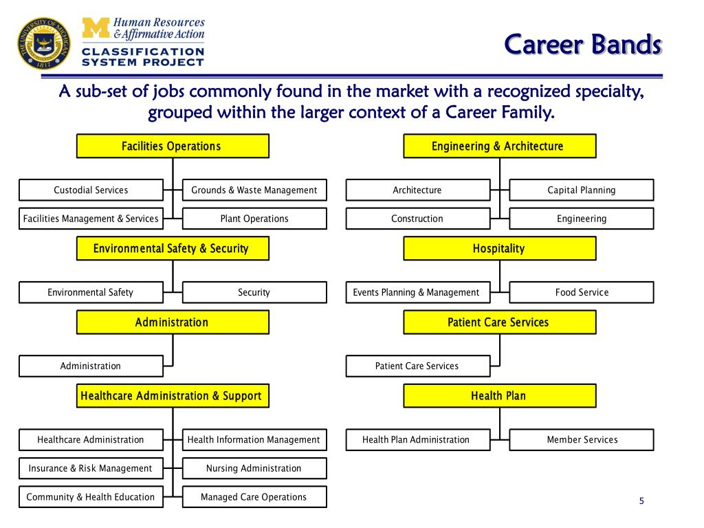 Career Bands