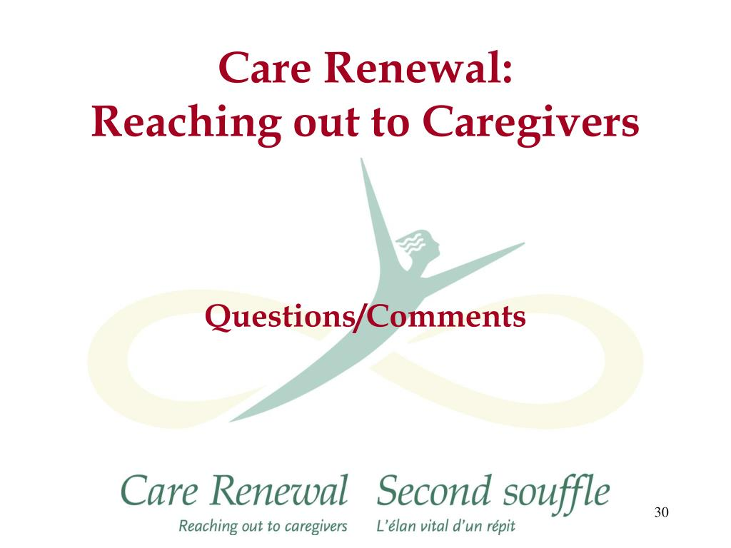 Care Renewal: