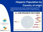hispanic population by country of origin
