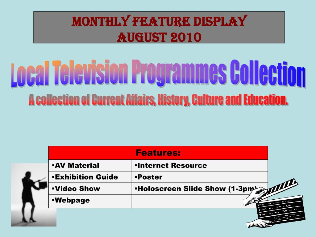 Monthly Feature Display