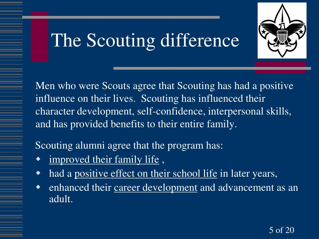 The Scouting difference